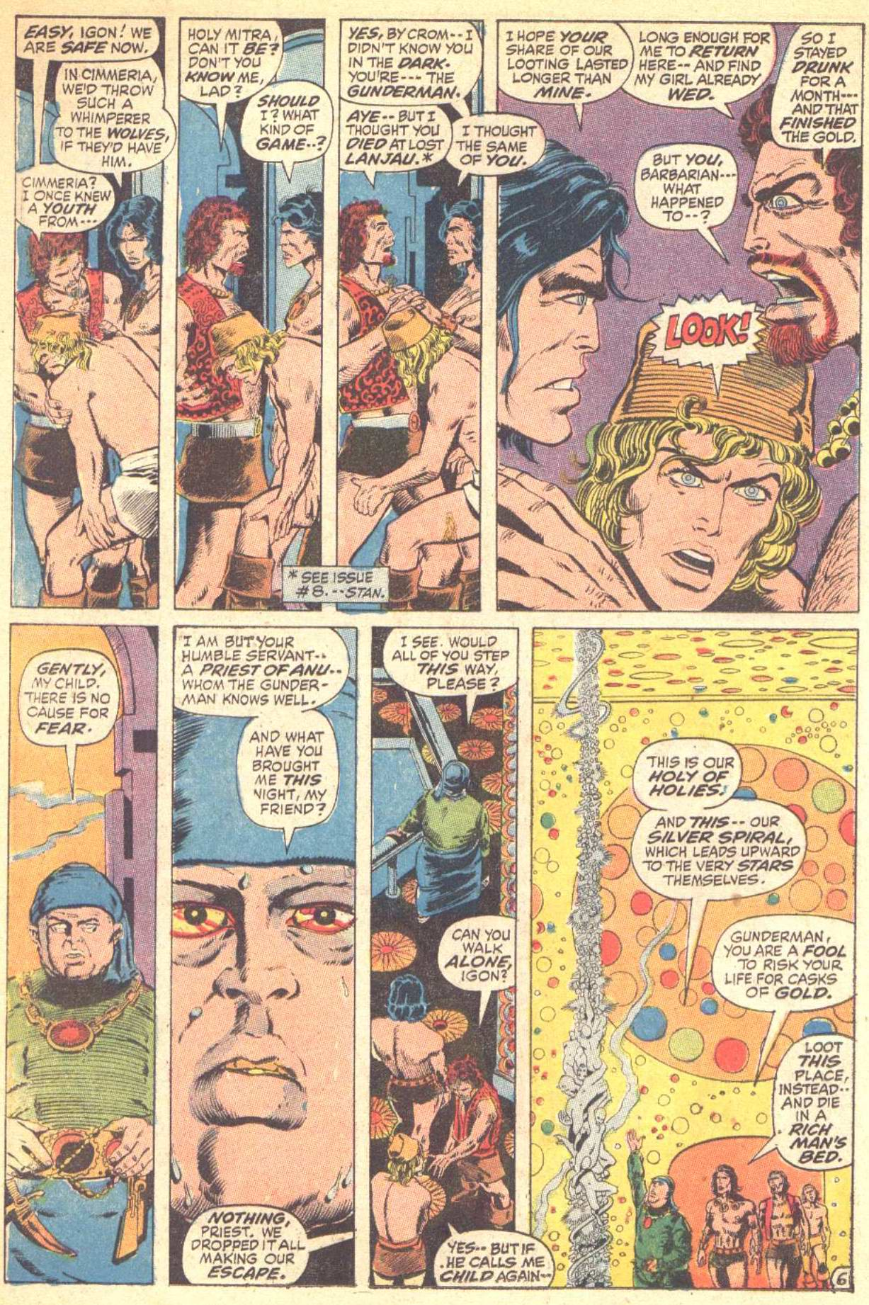 Conan the Barbarian (1970) Issue #10 #22 - English 7