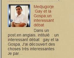 Medjugorje : Gay et la Gospa,un interessant débat.