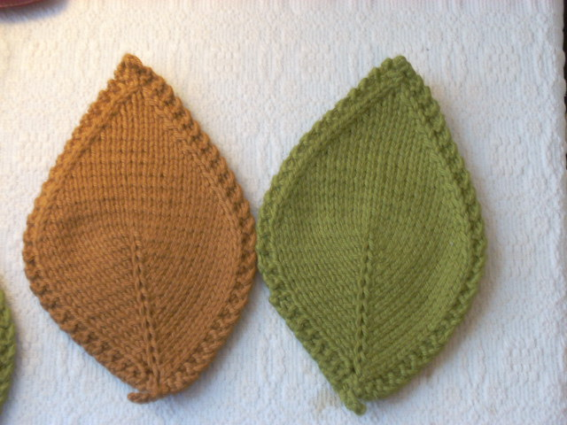 lost the thread: Autumn Leaves Coasters and more!