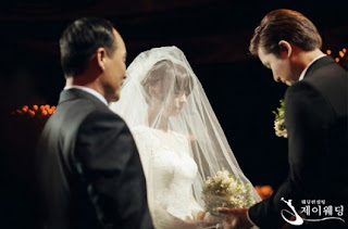 wonder girls sunye wedding ceremony pictures 5