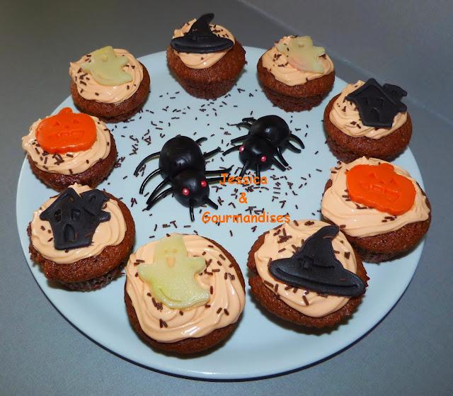 Jessica gourmandises id es de d coration pour halloween - Idee deco gateau halloween ...