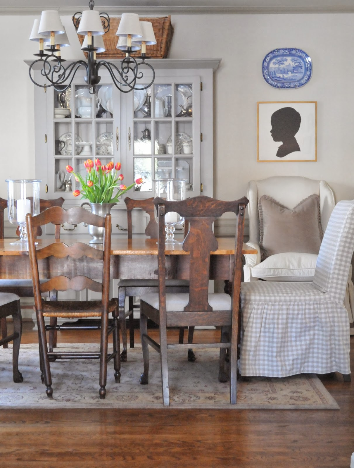 nine + sixteen: decorating inspiration | slipcovers + seat skirts