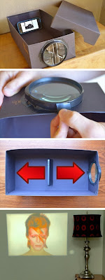 Turn your phone into a projector for less than $5.00