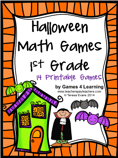 math worksheet : fun games 4 learning halloween math fun! : Halloween Math Worksheets First Grade