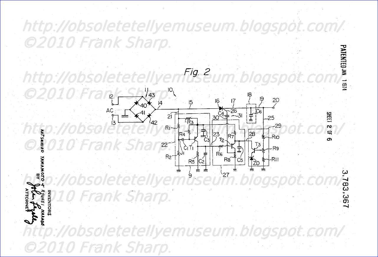 obsolete technology tellye    autovox mod  tvc2694  e
