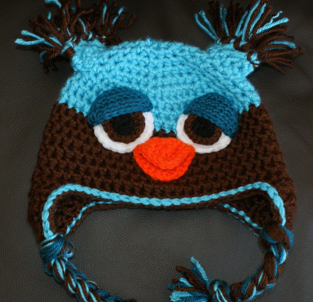 Crochet Pattern For Newborn Owl Hat : Oombawka Design *Crochet*