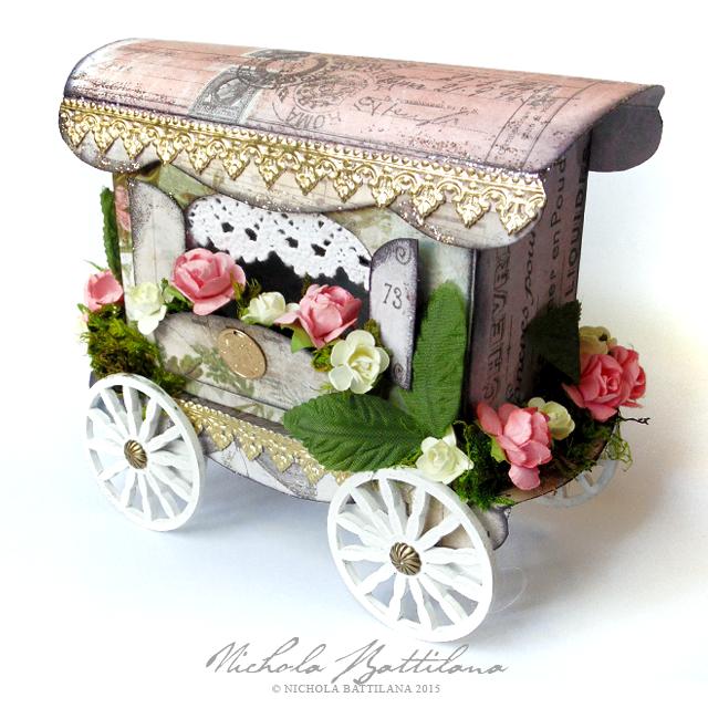 Paper Gypsy Caravan Tutorial/Template - Nichola Battilana
