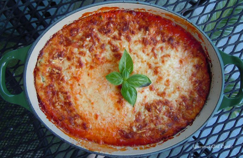 Gourmet Girl Cooks: Eggplant Ricotta Bake...