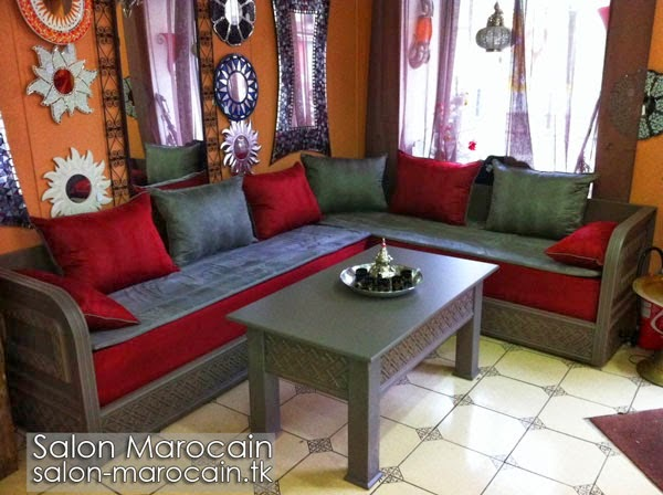 salon marocain moderne surmesure 2014 d233coration salon