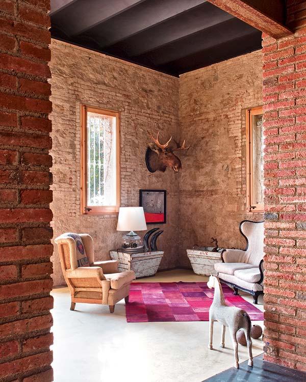 casa que aúna romanticismo y eclecticismo