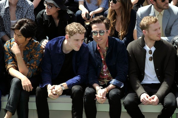 George Barnett Burberry Prorsum SS2015 show 17 June 2014 London Collections Men LCM