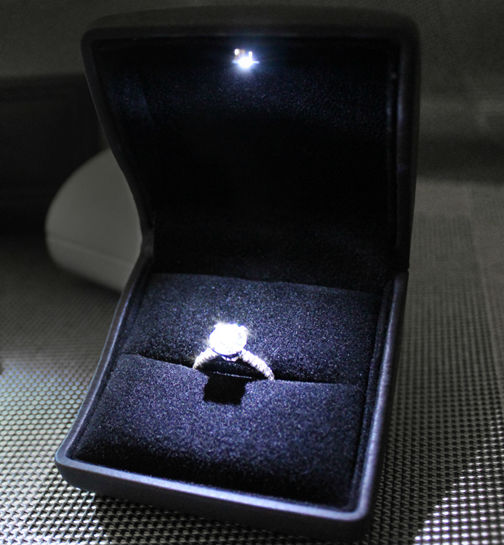 Proposal Ring Box With Light