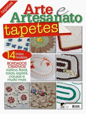 Meus crochets em mais uma revista de distribuição Nacional
