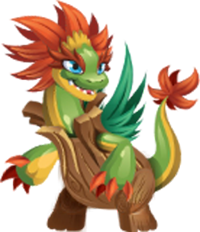 imagen de treezard de monster legends
