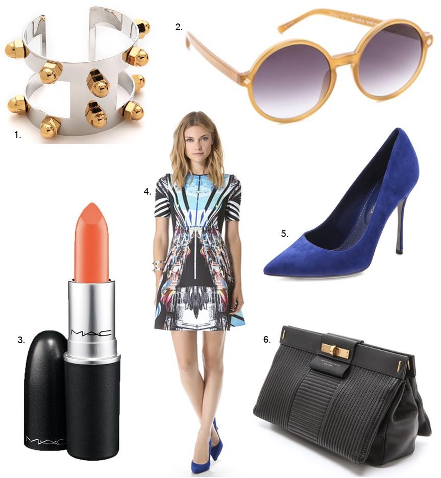 ootd, mac lipstick, designer dress, wiw