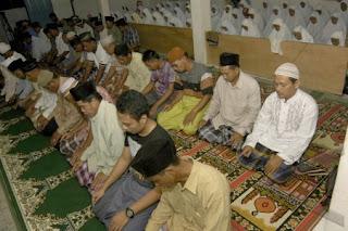 tata cara shalat terawih bulan ramadhan