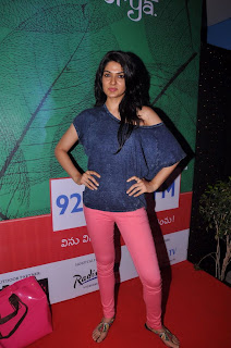 Actress Sakhi Chowdary Pictures in Tight Jeans at Green Ganesh 0015.jpg
