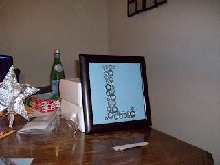 nursery art, monogram, washer monogram