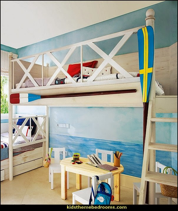 Nautical Themed Kids Room : Nautical Theme Bedrooms Decorating ideas and nautical theme decor ...