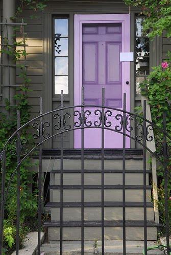 purple front door design 13 ไอเดียแต่งบ้านด้วยประตูบ้านสำหรับคนชอบสีม่วง