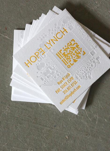 tarjetas de visita con codigo QR