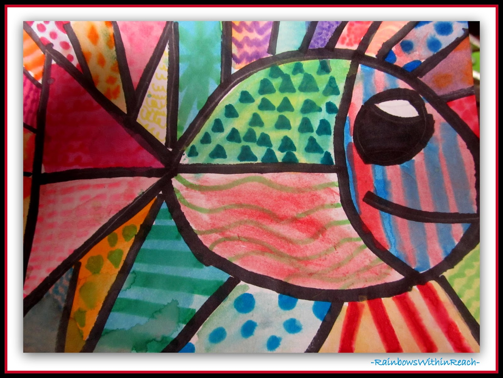 Ocean Artwork in the Style of Britto {Ocean RoundUP of Inspiration}