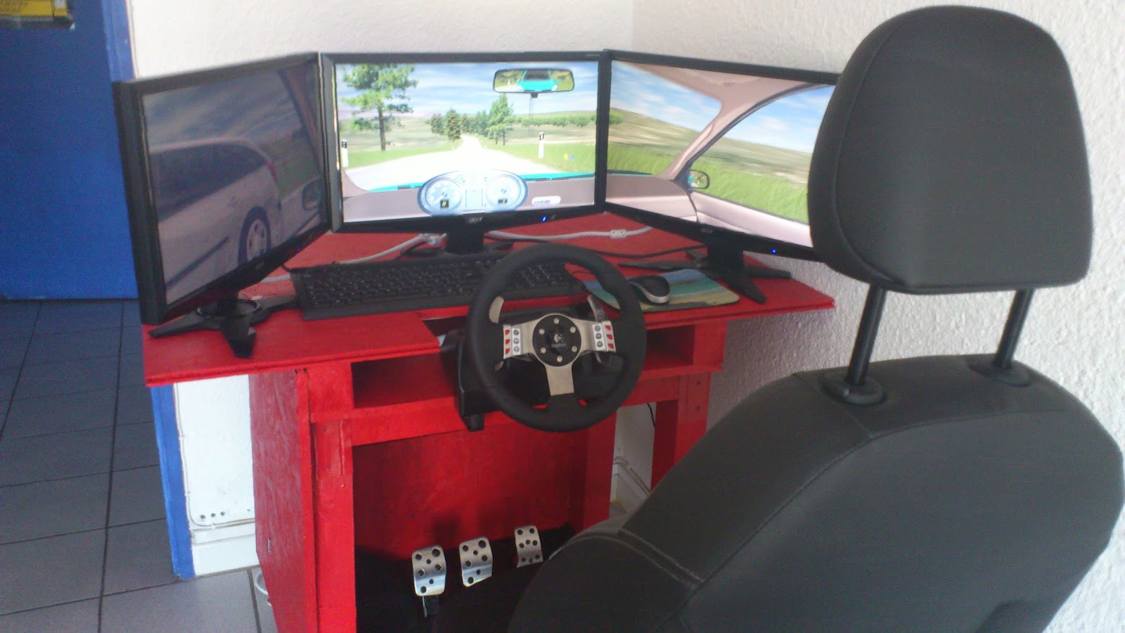 auto ecole des catalins conduite sur simulateur. Black Bedroom Furniture Sets. Home Design Ideas