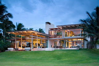Contemporary Tropical Home Design Dream house