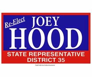 Re-Elect Joey Hood