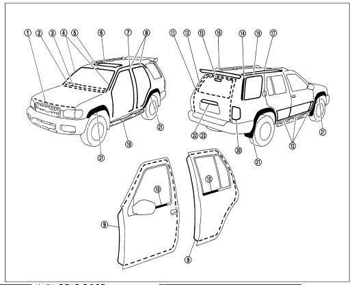 96 nissan pathfinder rear suspension