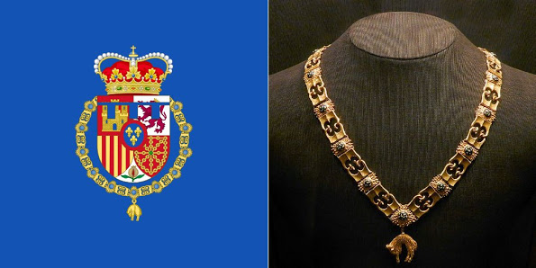 Princess Leonor Awarded Order Of The Golden Fleece