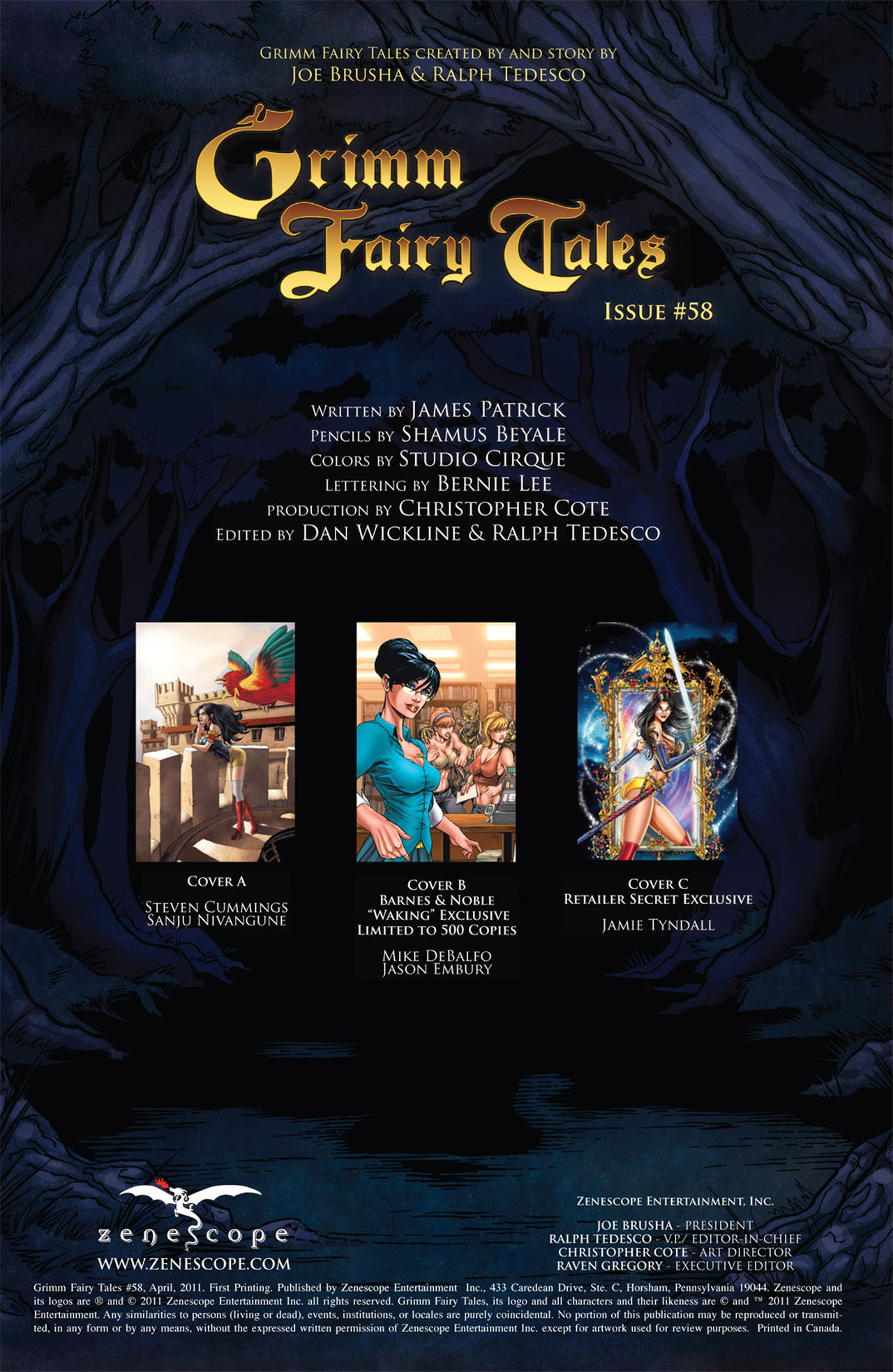 Grimm Fairy Tales (2005) Issue #58 #61 - English 2