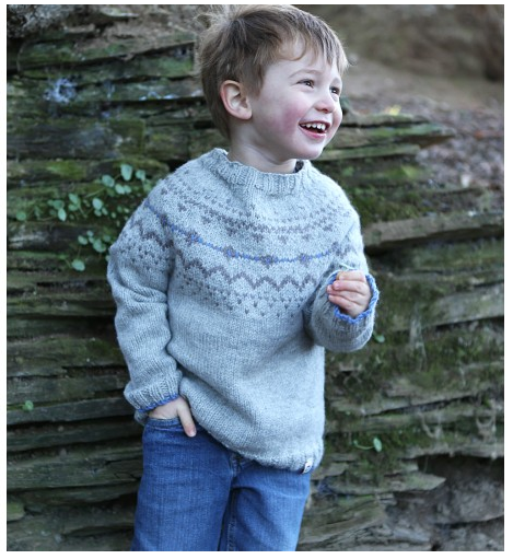 Picaloulou Hand Knitted Fair Isle jumper