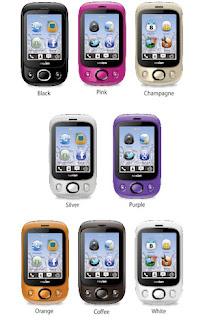 Ponsel yang mengusung layar sentuh ini juga telah dibekali aplikasi