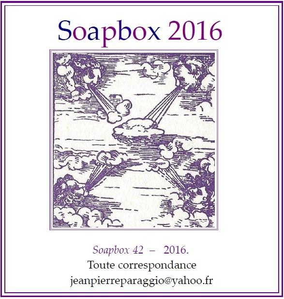 SOAPBOX 42, FEUILLET de L'UMBO, JANVIER 2016