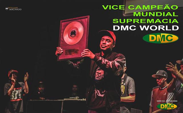 O DJ Erick Jay é Vice-Campeão Mundial do DMC