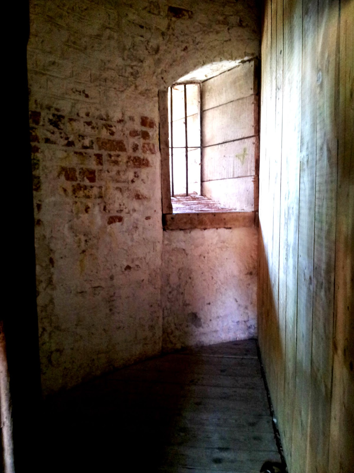 prison cell in Lauenburger Schlossturm