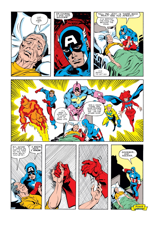 Captain America (1968) Issue #285 #201 - English 23