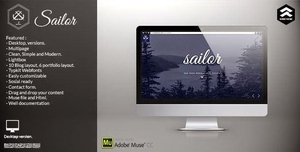 Best Creative Portfolio Muse Templates
