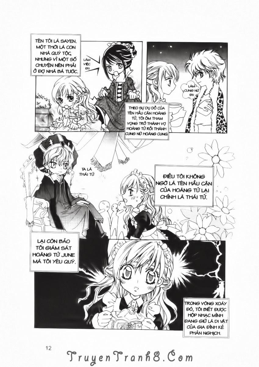 A Kiss For My Prince - Nụ Hôn Hoàng Tử Chapter 17 - Trang 13
