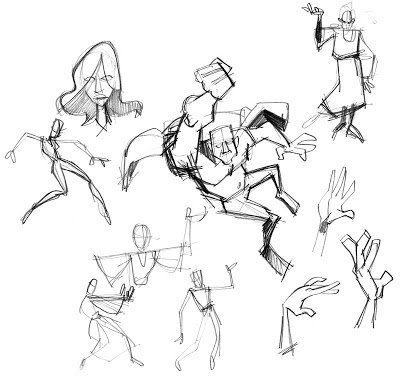 set of sketches