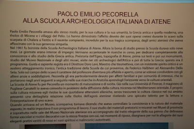 PaoloEmilio Percorella Description and Display