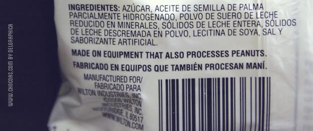 Candy melts y las grasas trans o hidrogenadas