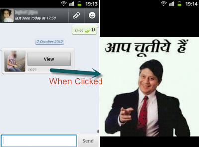 Whatsapp trick to fool people