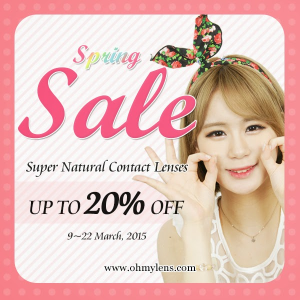 ★Spring Sale★ Selected Contact Lenses at ohmylens.com