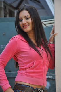 Anu Smrithi Spicy Pink T Shirt Denim Jeans Picture shoot Lovely Anu Smrithi