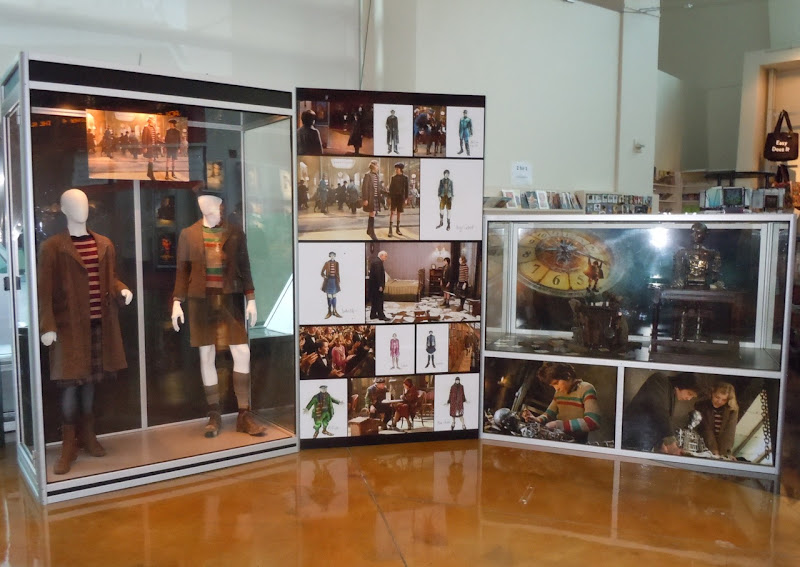 Hugo movie costume and prop exhibit