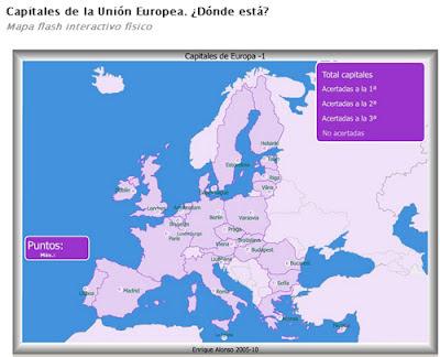 Worksheet. Centro Ercilla MAPAS POLTICOS DE EUROPA PASES Y CAPITALES