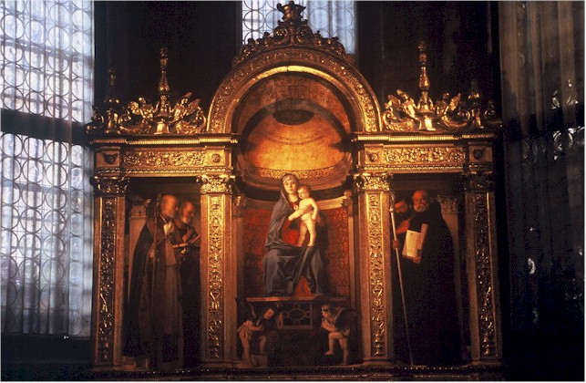 an analysis of the two altarpieces pesaro and assunta by titian Titian's next altarpiece for jacopo pesaro was commissioned at the  titian's  most famous painting is the assumption of the virgin (assunta), commissioned for  the  the apex of which are the two apostles in red and the virgin herself   renaissance sculpture secession surrealism symbolism venus women.