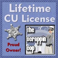 Scrappin Cop Cu License